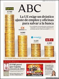 Diario ABC 25 Noviembre 2012