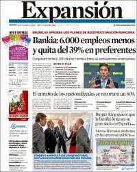 Diario EXPANSION 29 Noviembre 2012