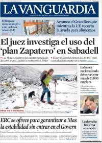Diario LA VANGUARDIA 29 Noviembre 2012