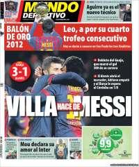 Diario MUNDO DEPORTIVO 29 Noviembre 2012