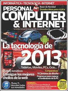 Revista Personal Computer & Internet - Nº 121 Diciembre 2012