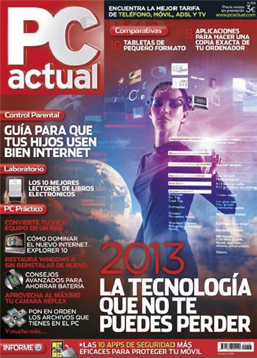 Revista PC ACTUAL Enero 2013