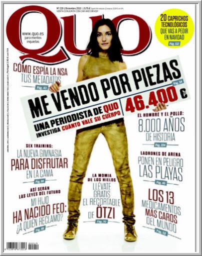 Revista QUO Diciembre 2013