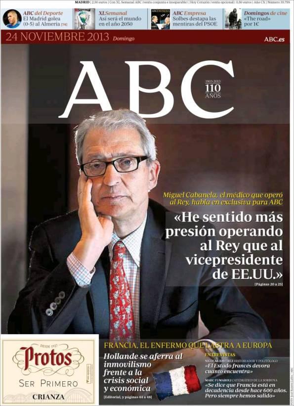 Diario ABC   Suplemento – 24 Noviembre 2013