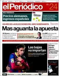 El Periodico de Catalunya 24-11-2013