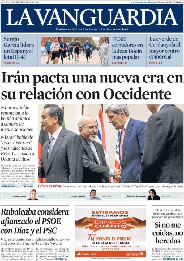 La Vanguardia 25-11-2013