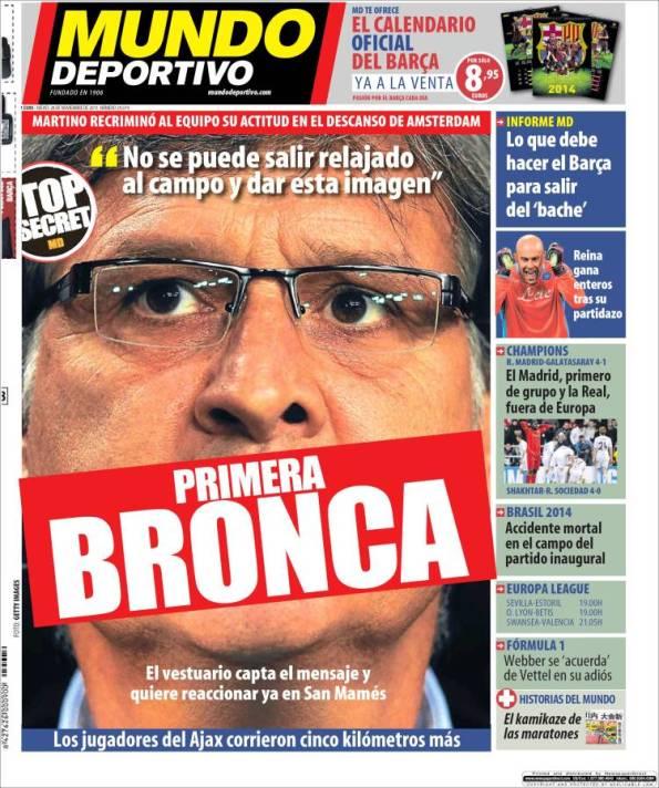 Todos los Mundo Deportivos 28-11-2013