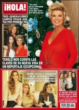 """¡HOLA! – 25 Diciembre 2013 """"Terelu Cuenta las Claves de su Nueva Vida"""""""