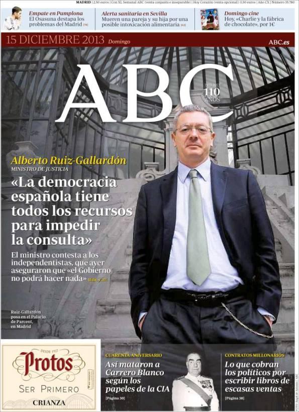 ABC   Suplementos – 15 Diciembre 2013