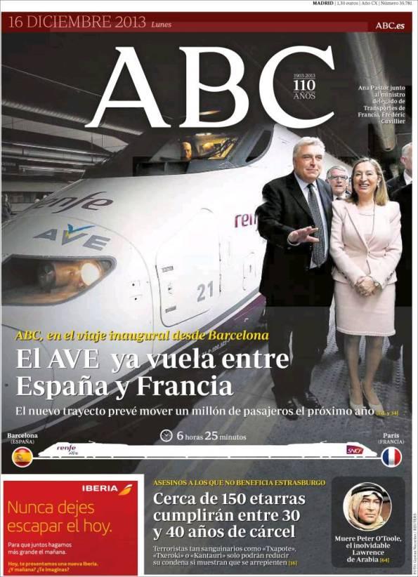ABC   Suplementos – 16 Diciembre 2013