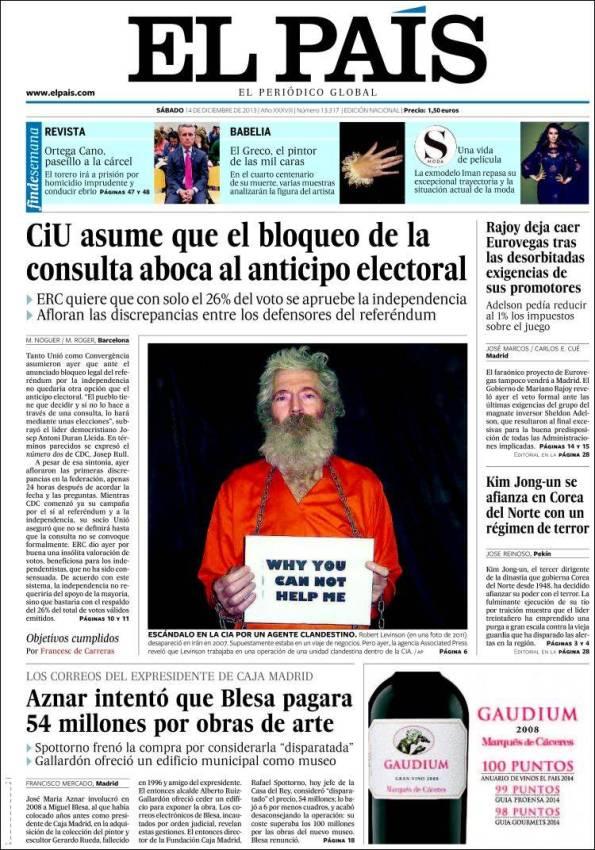 EL PAÍS   Suplementos – 14 Diciembre 2013