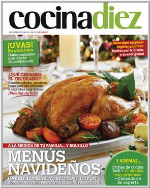COCINA Diez Supl n. 198/ Diciembre de 2013 – Especial Menus Navideños .